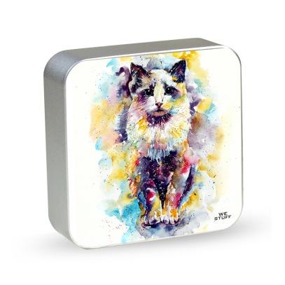 Powerbank o gato e a aquarela