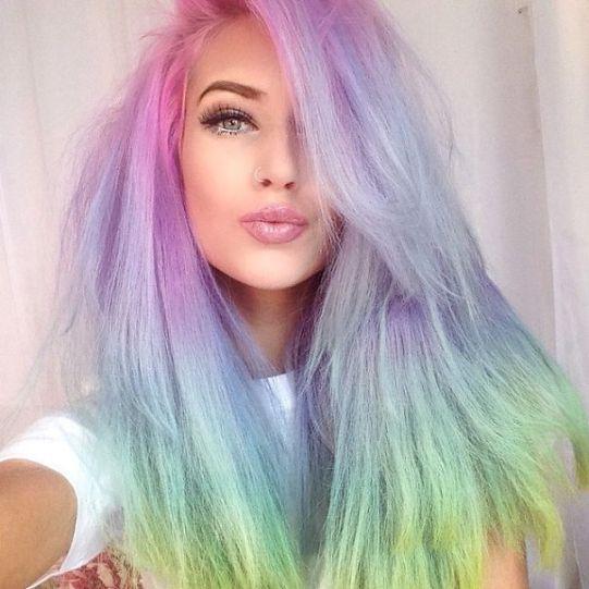 unicornio cabelo